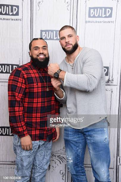 Director Steven Caple Jr and actor Florian Munteanu visit Build Series to discuss the film 'Creed ll' at Build Studio on November 14 2018 in New York...