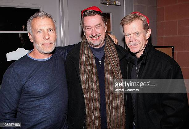 Director Steven Schachter Sundance Director Geoffrey Gilmore and William H Macy attends the premiere of The Deal at Eccles Theatre during 2008...