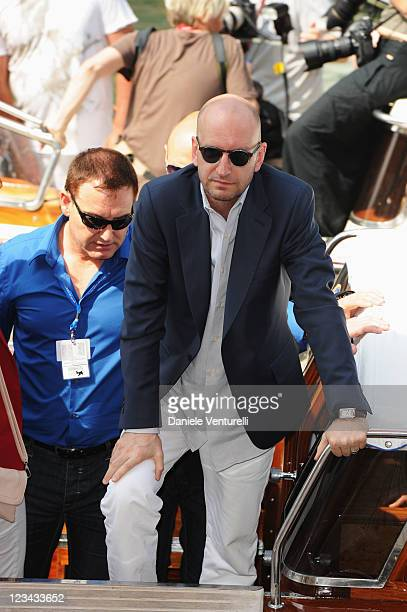 Director Steven Soderberg attends the Contagion Photocall during the 68th Venice International Film Festival at Palazzo del Casino on September 3...