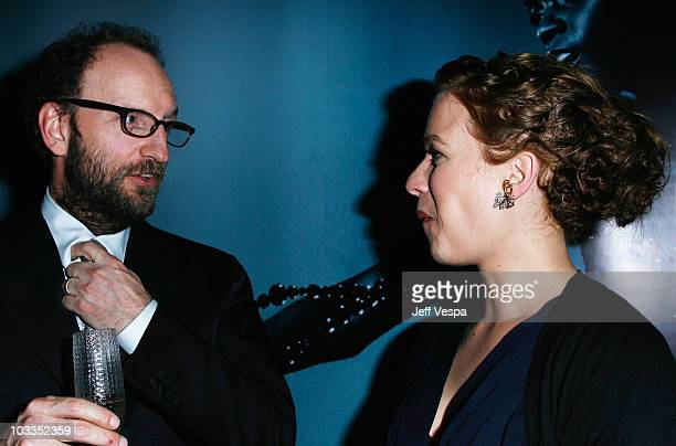 Director Steven Soderbergh and actress Franka Potente attend the 'Che' after party during the 61st International Cannes Film Festival on May 21 2008...