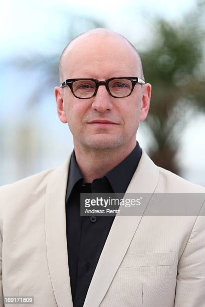 Director Steven Soderbergh attends the 'Behind The Candelabra' premiere during The 66th Annual Cannes Film Festival at Theatre Lumiere on May 21 2013...