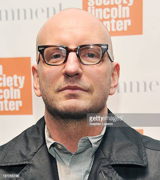 Director Steven Soderbergh attends the Film Comment Selects sneak preview screening of 'Haywire' at The Film Society of Lincoln Center Walter Reade...