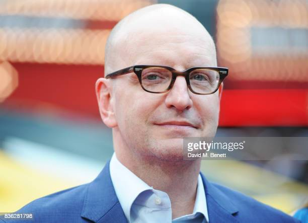 Director Steven Soderbergh attends the 'Logan Lucky' UK Premiere at Vue West End on August 21 2017 in London England