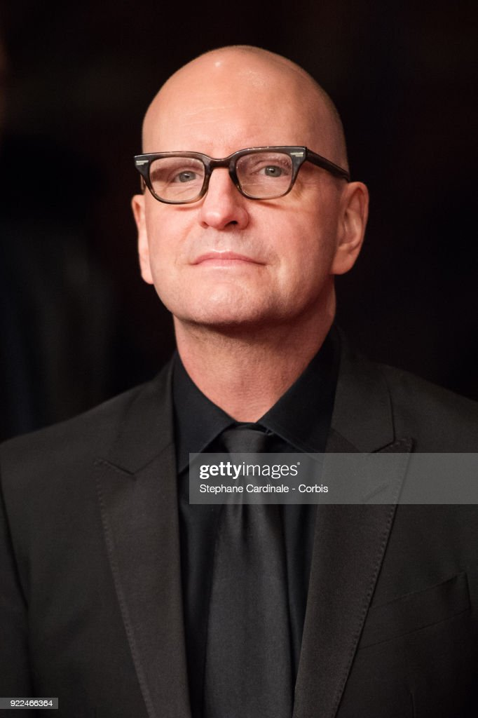 Director Steven Soderbergh attends the 'Unsane' premiere during the 68th Berlinale International Film Festival Berlin at Berlinale Palast on February 21, 2018 in Berlin, Germany.