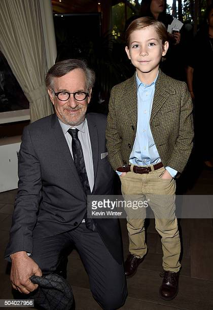 Director Steven Spielberg and actor Jacob Tremblay attend the 16th Annual AFI Awards at Four Seasons Hotel Los Angeles at Beverly Hills on January 8...