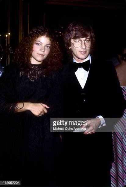 Director Steven Spielberg and actress Amy Irving attend an event circa 1984 in Los Angeles California