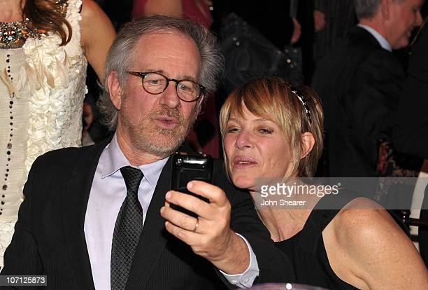 Director Steven Spielberg and actress Kate Capshaw attend the 13th annual Unforgettable Evening benefiting EIF held at Beverly Wilshire Four Seasons...