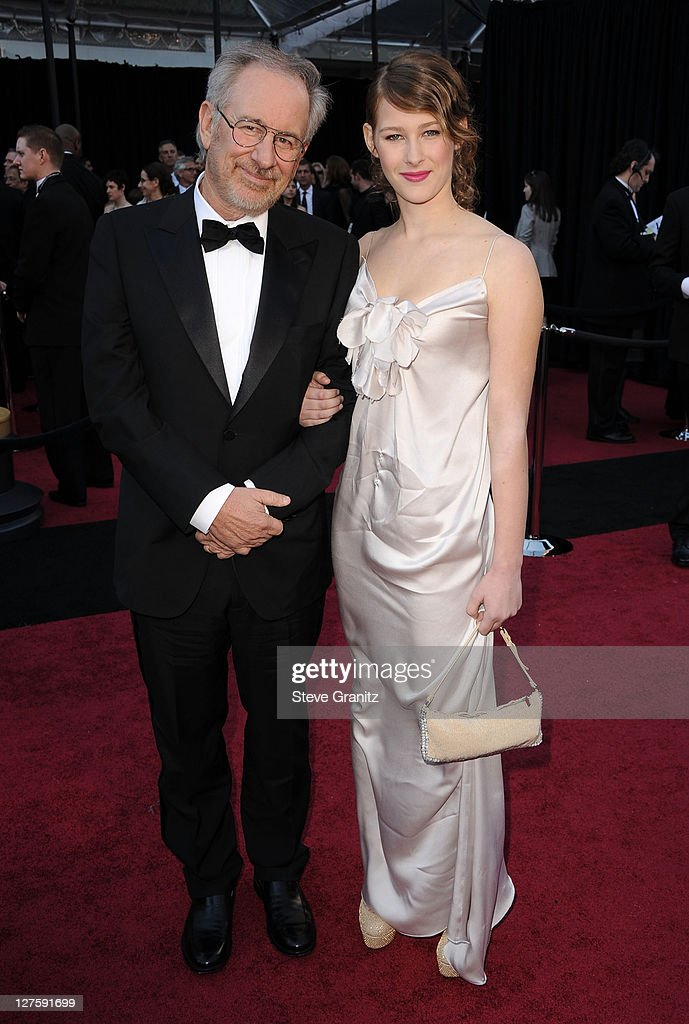 Director Steven Spielberg and daughter Sasha Spielberg arrive at the 83rd Annual Academy Awards held at the Kodak Theatre on February 27, 2011 in Los Angeles, California.