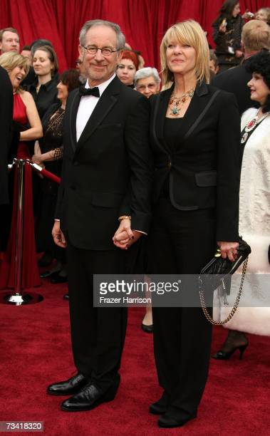 Director Steven Spielberg and Kate Capshaw attend the 79th Annual Academy Awards held at the Kodak Theatre on February 25 2007 in Hollywood California