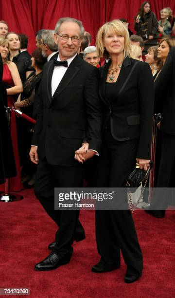 Director Steven Spielberg and wofe Kate Capshaw attend the 79th Annual Academy Awards held at the Kodak Theatre on February 25 2007 in Hollywood...