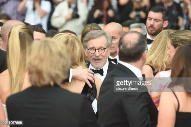 Director Steven Spielberg arrive for the screening of 'The BFG' during the 69th annual Cannes Film Festival, in Cannes, France, 14 May 2016. Photo:...