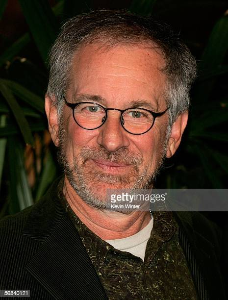 Director Steven Spielberg arrives at the Oscar Nominees Luncheon at the Beverly Hilton Hotel on February 13 2006 in Beverly Hills California