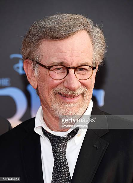 Director Steven Spielberg arrives at the premiere of Disney's The BFG at the El Capitan Theatre on June 21 2016 in Hollywood California