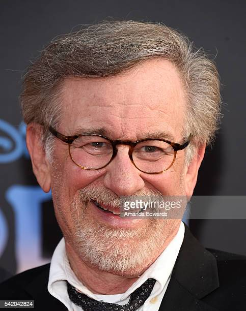 Director Steven Spielberg arrives at the premiere of Disney's 'The BFG' at the El Capitan Theatre on June 21 2016 in Hollywood California