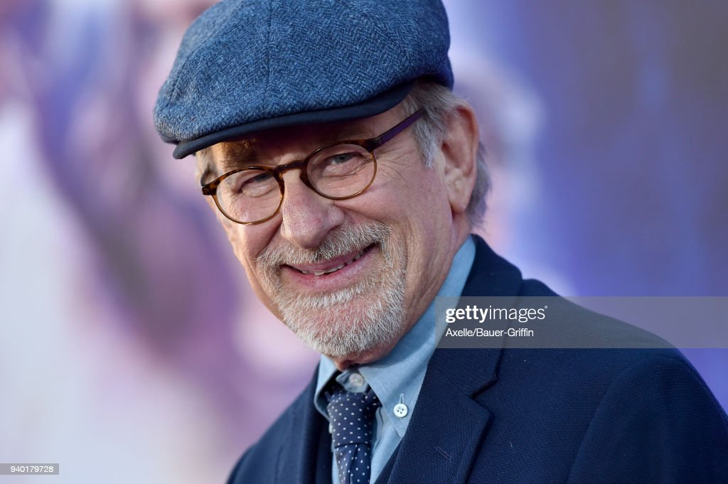 Director Steven Spielberg arrives at the Premiere of Warner Bros. Pictures' 'Ready Player One' at Dolby Theatre on March 26, 2018 in Hollywood, California.