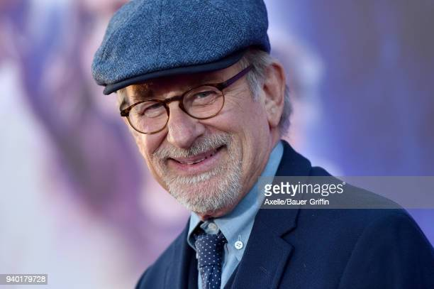Director Steven Spielberg arrives at the Premiere of Warner Bros. Pictures' 'Ready Player One' at Dolby Theatre on March 26, 2018 in Hollywood,...