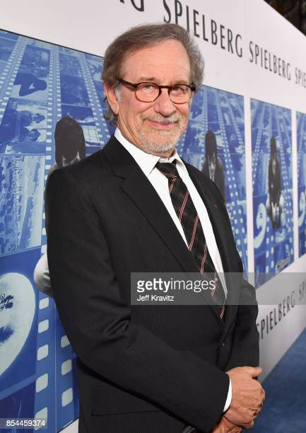 Director Steven Spielberg at HBO's 'Spielberg' Premiere at Paramount Studios on September 26 2017 in Hollywood California