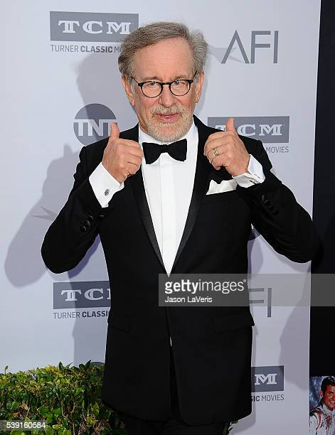 Director Steven Spielberg attends the 44th AFI Life Achievement Awards gala tribute at Dolby Theatre on June 9 2016 in Hollywood California