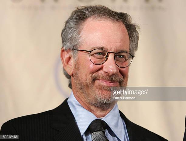 Director Steven Spielberg attends the 5th Annual Ambassadors for Humanity Dinner Honoring former President Bill Clinton to support the Survivors of...
