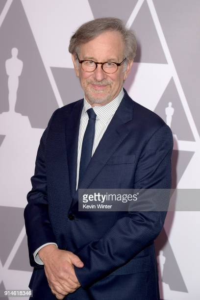Director Steven Spielberg attends the 90th Annual Academy Awards Nominee Luncheon at The Beverly Hilton Hotel on February 5, 2018 in Beverly Hills,...
