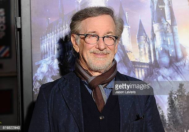 Director Steven Spielberg attends the opening of The Wizarding World of Harry Potter at Universal Studios Hollywood on April 5 2016 in Universal City...