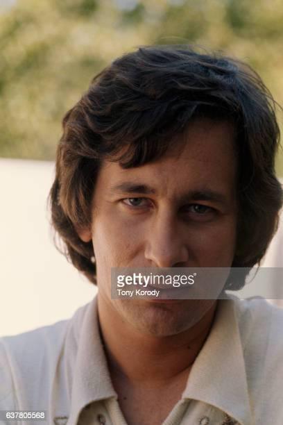 Director Steven Spielberg in His Office