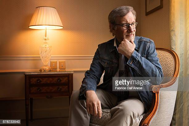Director Steven Spielberg is photographed for Stern Magazine on May 15 2016 in Cannes France