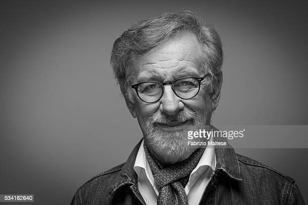 Director Steven Spielberg is photographed for The Hollywood Reporter on May 14 2016 in Cannes France