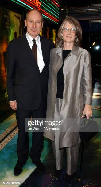 Director Stuart Baird and his wife Susan Baird arrive for the European Charity Premiere of Star Trek Nemesis at the Empire Leicester Square in London