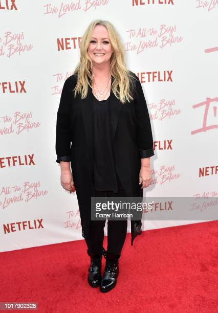 Director Susan Johnson attends the Screening Of Netflix's 'To All The Boys I've Loved Before' Arrivals at Arclight Cinemas Culver City on August 16...