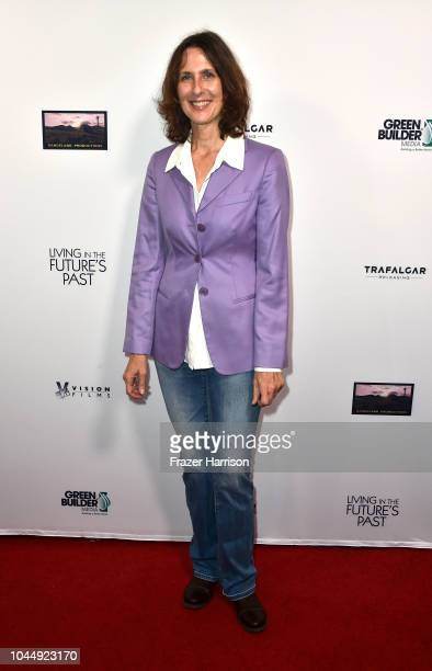 Director Susan Kucera attends the Premiere Of Vision Films' 'Living In The Future's Past' at Ahrya Fine Arts Theater on October 2 2018 in Beverly...