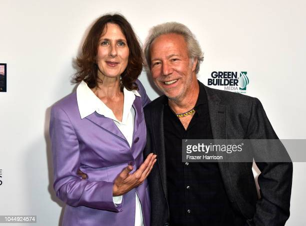 Director Susan Kucera ethnobotanist Mark Plotkin attend the Premiere Of Vision Films' 'Living In The Future's Past' at Ahrya Fine Arts Theater on...