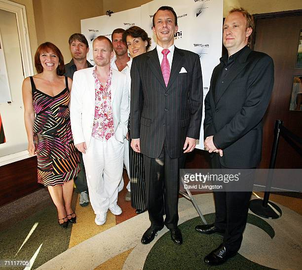 Director Susanne Bier; actor Ulrich Thomsen, festival co-founder Lene Pels Jorgensen, HRH Prince Joachim of Denmark and festival co-founder Christian...