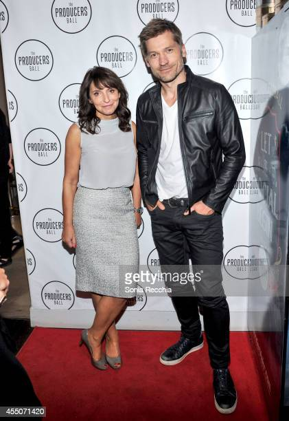 Director Susanne Bier and actor Nikolaj CosterWaldau attends the NKPR IT Lounge Portrait Studio With W Magazine on Day 6 during the 2014 Toronto...