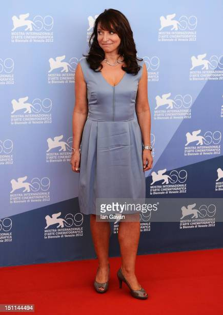 Director Susanne Bier attends the Love Is All You Need Photocall during the 69th Venice Film Festival at the Palazzo del Casino on September 2 2012...
