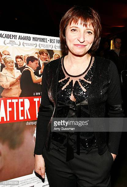 """Director Susanne Bier attends the premiere of """"After The Wedding"""" at the IFC Center on March 28, 2007 in New York City."""