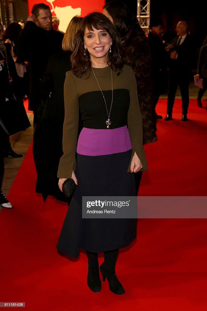 Director Susanne Bier attends the 'The Night Manager' premiere during the 66th Berlinale International Film Festival Berlin at Haus der Berlinale on February 18, 2016 in Berlin, Germany.