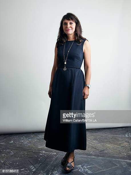 Director Susanne Bier poses for a portrait BBC America BAFTA Los Angeles TV Tea Party 2016 at the The London Hotel on September 17, 2016 in West...