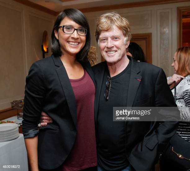 Director Sydney Freeland and President and Founder of Sundance Institute Robert Redford attend the Sundance Institute Native American and Indigenous...