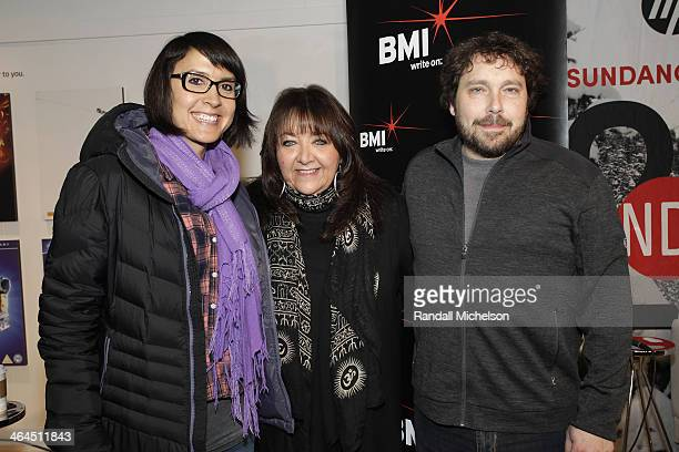 Director Sydney Freeland BMI's Doreen RingerRoss and composer Mark Orton attend BMI's 16th Annual Composer/Director Roundtable Music Film The...