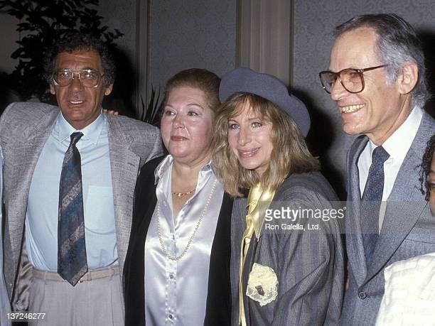 Director Sydney Pollack songwriter Marilyn Bergman actress/singer Barbra Streisand and songwriter Alan Bergman attend the 10th Annual Women in Film...