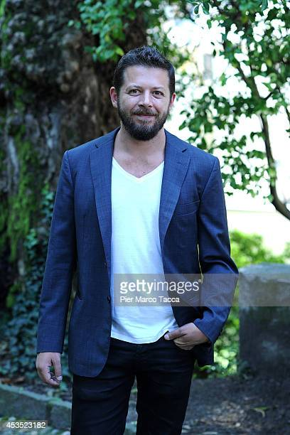 Director Syllas Tzoumerkas attends the 'A Blast' Photocall during the 67th Locarno Film Festival on August 12 2014 in Locarno Switzerland