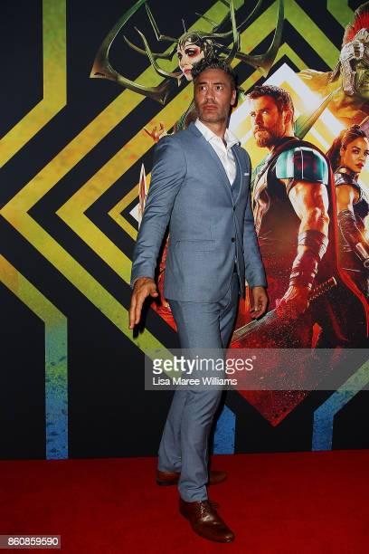 Director Taika Waitit arrives for the Australian Premiere of Thor Ragnarok on October 13 2017 in Gold Coast Australia