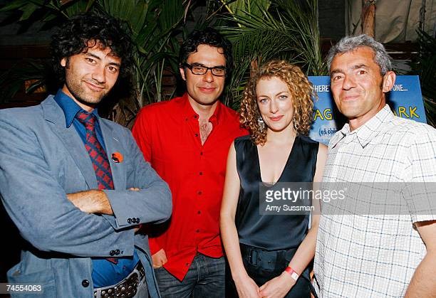 Director Taika Waititi actor Jemaine Clement actress Loren Horsley and president of Miramax Daniel Battsek attend the after party for the premiere of...