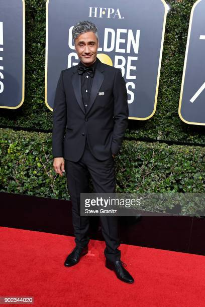 Director Taika Waititi attends The 75th Annual Golden Globe Awards at The Beverly Hilton Hotel on January 7 2018 in Beverly Hills California