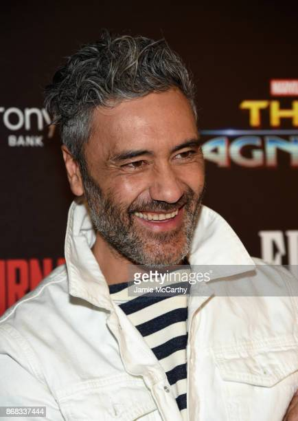 Director Taika Waititi attends The Cinema Society's Screening Of Marvel Studios' 'Thor Ragnarok' at the Whitby Hotel on October 30 2017 in New York...