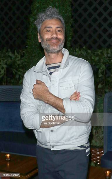 Director Taika Waititi attends the screening after party for Marvel Studios' 'Thor Ragnarok' hosted by The Cinema Society with FIJI Water Men's...