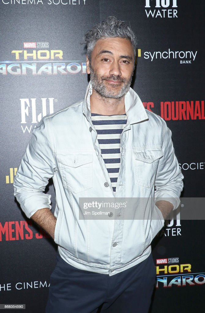 Director Taika Waititi attends the screening of Marvel Studios' 'Thor: Ragnarok' hosted by The Cinema Society with FIJI Water, Men's Journal and Synchrony at the Whitby Hotel on October 30, 2017 in New York City.