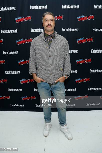 Director Taika Waititi participates in Entertainment Weekly's Visionaries panel at New York Comic Con on October 6 2018 in New York City
