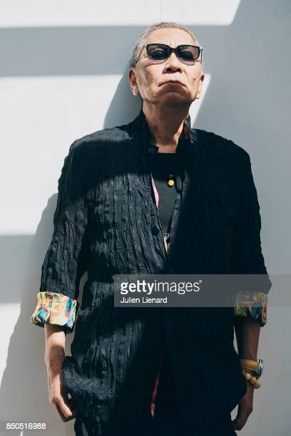 Director Takashi Miike is photographed for Self Assignment on May 21 2017 in Cannes France